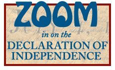 Zoom in on the Declaration of Independence from Colonial Williamsburg for Kids 4th Grade Social Studies, Social Studies Resources, 100 Days Of School, Middle School, School Stuff, American Revolution For Kids, American Symbols, American History, Student Teaching