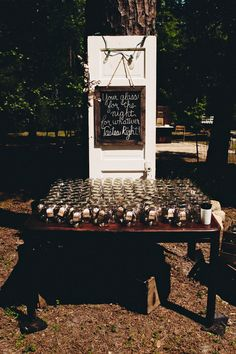 DIY Bride » Crafting Beautiful Weddings, One Project At A Time » Tiffany + Brandon's Country Vintage Wedding