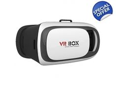 VR BOX 2.0 Virtual Reality Glasses, 2016 3D VR Headsets for 4.76 Inch Screen Phones iphone 4S, iph..