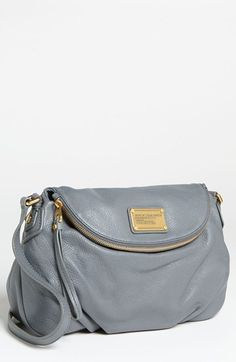 MARC BY MARC JACOBS Classic Q - Natasha Crossbody Flap Bag (gunmetal)