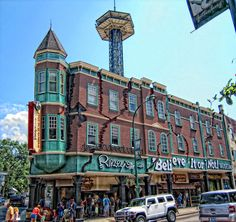 Ripley's - Gatlinburg, Tn. #Ripleys Legacy is seen in several views in #Pigeon-Forge and Gatlinburg, something that everyone will love.
