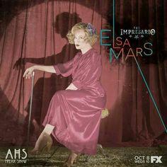 Jessica Lange as Elsa Mars American Horror Story Freakshow