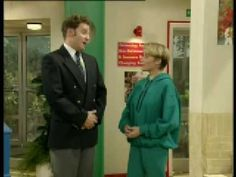 The Brittas Empire - a really hilarious sit-com.  Oh, I've laughed until I cried at some episodes...