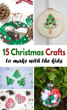Crafting is such fun and it's even more fun to craft with a special kiddo during the holidays. You'll love these 15 Kids Christmas Crafts!