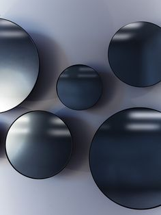 Castor - Black Metal Collection - The black was achieved through a number of different finishes including black chrome and black oxide.