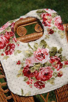 Vintage Valentine's Shabby Chic Rose Garden by LePetiteBirdie, $7.50