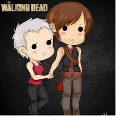 Caryl ❤️ love the walking dead!!!!!
