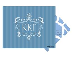 Kappa Kappa Gamma  - Lap Desk!  Order yours now at www.happylappystore.com