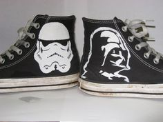 Sharpie Drawings On Converse | Star Wars Converse by PolkaDotCaterpillar