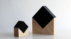 chikuno cube//When the bamboo charcoal – 4-cm honeycomb cube – is placed on its base, it forms a miniature house purifies the air in your larger house.