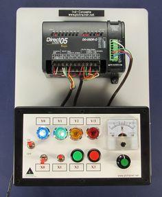 Automation Direct PLC Trainer, Training Lessons Analog - PLCCable.com