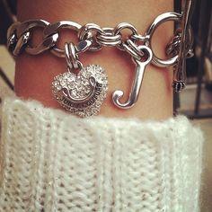 .Juicy couture charm bracelet