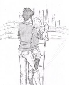 Tris and Four on the Feris Wheel Allegiant Divergent, Divergent Fan Art, Divergent Four, Divergent Trilogy, Tris And Tobias, Tris And Four, Divergent Fandom, Divergent Drawings, Fangirl Book