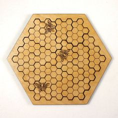 Hey, I found this really awesome Etsy listing at https://www.etsy.com/listing/201809687/beehive-wooden-jigsaw-puzzle