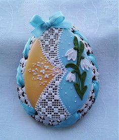 Danka82 / Veľkonočné medovníkové vajíčko