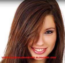 red highlights for brown hair - Google Search