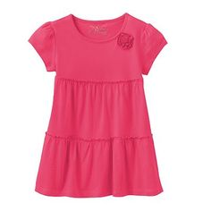 687ea84ce09c Jumping Beans® Tiered Babydoll Top - Girls 4-7
