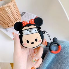 Disney Airpods Cases Protective Silicone Skin Cover Case for Apple Airpods 2 1 Iphone 6, Iphone 11 Pro Case, Iphone Cases, Cute Cases, Cute Phone Cases, Cute Disney, Disney Style, Mickey Minnie Mouse, Disney Mickey