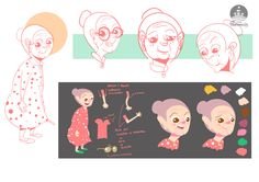 character design,color palette