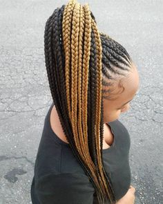 Cornrows to High Long Ponytail Braided Ponytail Black Hair, Feed In Braids Ponytail, Cornrow Ponytail, Protective Hairstyles For Natural Hair, Black Girl Braided Hairstyles, Braided Ponytail Hairstyles, Dope Hairstyles, African Braids Hairstyles, Braids For Black Hair