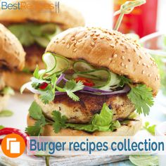 A collection of burger recipes #dinner #family #easy #tasty #ideas