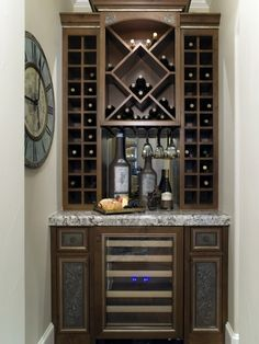 Hmm im sure there is a space just for this...Wine Cellar Design, for small spaces