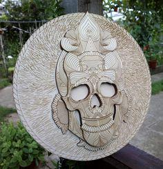 Gravura tablou shamanic - craniu Stone, Outdoor Decor, Home Decor, Rock, Decoration Home, Room Decor, Stones, Home Interior Design, Batu
