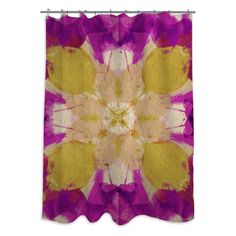 Oliver Gal Amantis Shower Curtain - 12246.SHOWER_OS_POL
