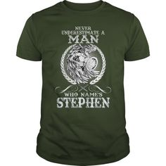 Stephen  Never Underestimate A Man Who Stephen  Name Stephen Curry T Shirt Nba Store #stephen #curry #t #shirt #yellow #stephen #fry #t #shirt #steve #o #t #shirt #steve #smith #t #shirt #jersey