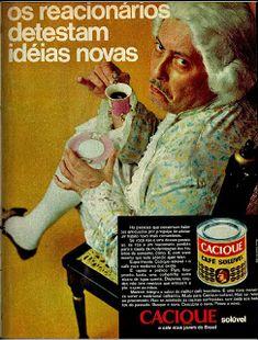 anúncio café cacique de 1970