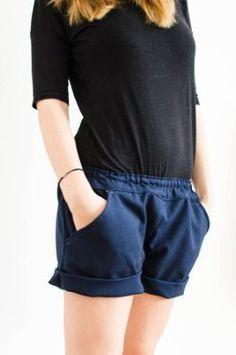 Shorts mit Taschen / Schnittmuster (Gr S) und Textanleitung