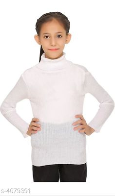 Sweaters Doodle Trendy Woolen Kid's Girls Sweater Doodle Trendy Woolen Kid's Sweaters Country of Origin: India Sizes Available: 0-3 Months, 0-6 Months, 3-6 Months, 6-9 Months, 6-12 Months, 9-12 Months, 12-18 Months, 18-24 Months, 0-1 Years, 1-2 Years, 2-3 Years, 3-4 Years, 4-5 Years, 5-6 Years, 6-7 Years, 7-8 Years, 8-9 Years, 9-10 Years, 10-11 Years, 11-12 Years, 12-13 Years, 13-14 Years, 14-15 Years, 15-16 Years, Free Size *Proof of Safe Delivery! Click to know on Safety Standards of Delivery Partners- https://ltl.sh/y_nZrAV3  Catalog Rating: ★4 (1264)  Catalog Name: Doodle Trendy Woolen Kid's Girls Sweaters Vol 4 CatalogID_579459 C79-SC1026 Code: 422-4079391-