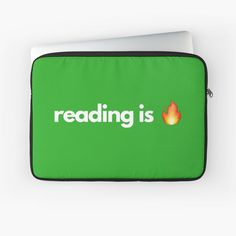 reading is lit reading book book lover bookworm literature obsessed with books saying qoute librarian library study school college education english teacher love reading love books book club bookish bibliophile Laptop Case, Ipad Case, Education English, Education College, Qoute, Love Reading, Bibliophile, Love Book, Book Quotes