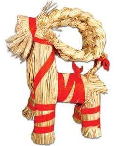 Ingebretsen's Scandinavian Gifts - Swedish Straw Julbock - CHRISTMAS DECOR - CHRISTMAS
