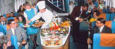 Veja como era a comida do avião antigamente | Mundo Gump
