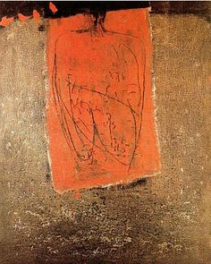 These bold abstract pieces are by Spanish artist Antoni Tàpies . To see more of his work go to Amorosa Art . Pablo Picasso, Abstract Painters, Abstract Art, Art Espagnole, Pretty Things, Modern Art, Contemporary Art, Art Informel, Spanish Artists