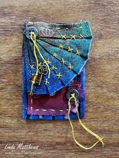 Creative Stitch Alchemy Mini-Journal: Unfolding – Hidden Pockets