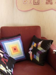 """New cushions for """"my corner"""" - Star in solid by Vivie"""