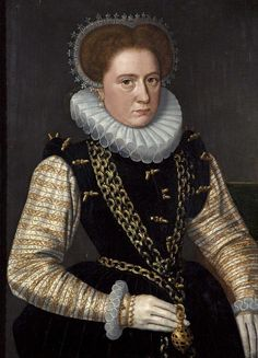 Portrait of a Lady in Spanish Costume  Alternative Title: Queen Mary, Consort of Philip of Spain  CollectionHolburne Museum of Art,  Dutch School about 1585