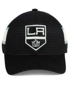 adidas Los Angeles Kings 2017 Draft Structured Flex Cap - Black/White/Gray L/XL