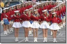 Kilgore College Rangerettes ~ Founded in 1939, they are the world's best-known collegiate drill team, and the original drill team, patterned after New York City's Rockettes.