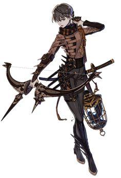 Lio the Sharpshooter Art - Terra Battle Art Gallery