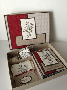 Stampin' Up Beautiful Season Cards & Tags Box Set - handmade
