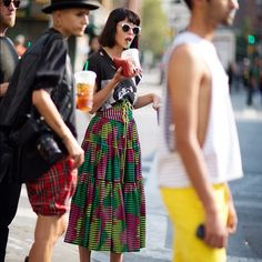 Hey, we're on The Sartorialist today!