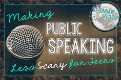 A great blog of secondary English teachers helping you find great ideas to enhance your classroom! Speaking Games, Public Speaking Tips, Speech And Debate, English Classroom, English Teachers, Best Speeches, Good Presentation, High School English, Essay Writing Tips