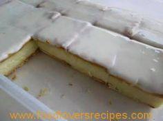 Microwave Custard Slices