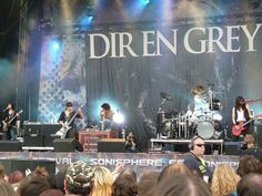Dir En Grey . Sonisphere Festival 2010 Knebworth UK - 1st August 2010