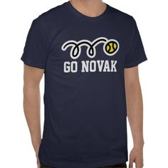 Novak Djokovic tennis t-shirt for men women kids