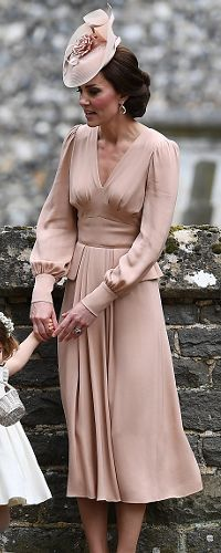 20 May 2017 - Duchess of Cambridge at sister Pippa Middleton's wedding