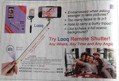 The Looq Remote Shutter